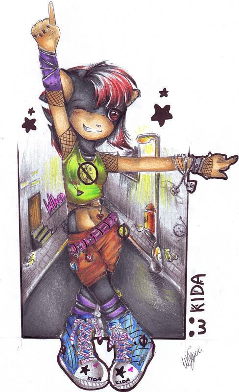 .My name is Kida. by viki-vaki