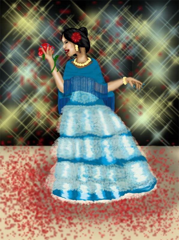 Hispanic Beauty by delphinepryde84