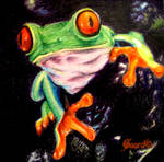 Tree Frog by GaardCeteru