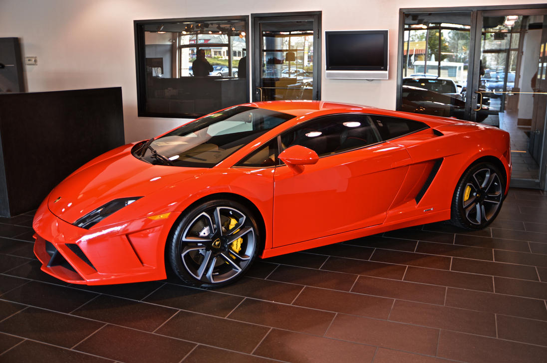 orange 2014 gallardo by Hcitron