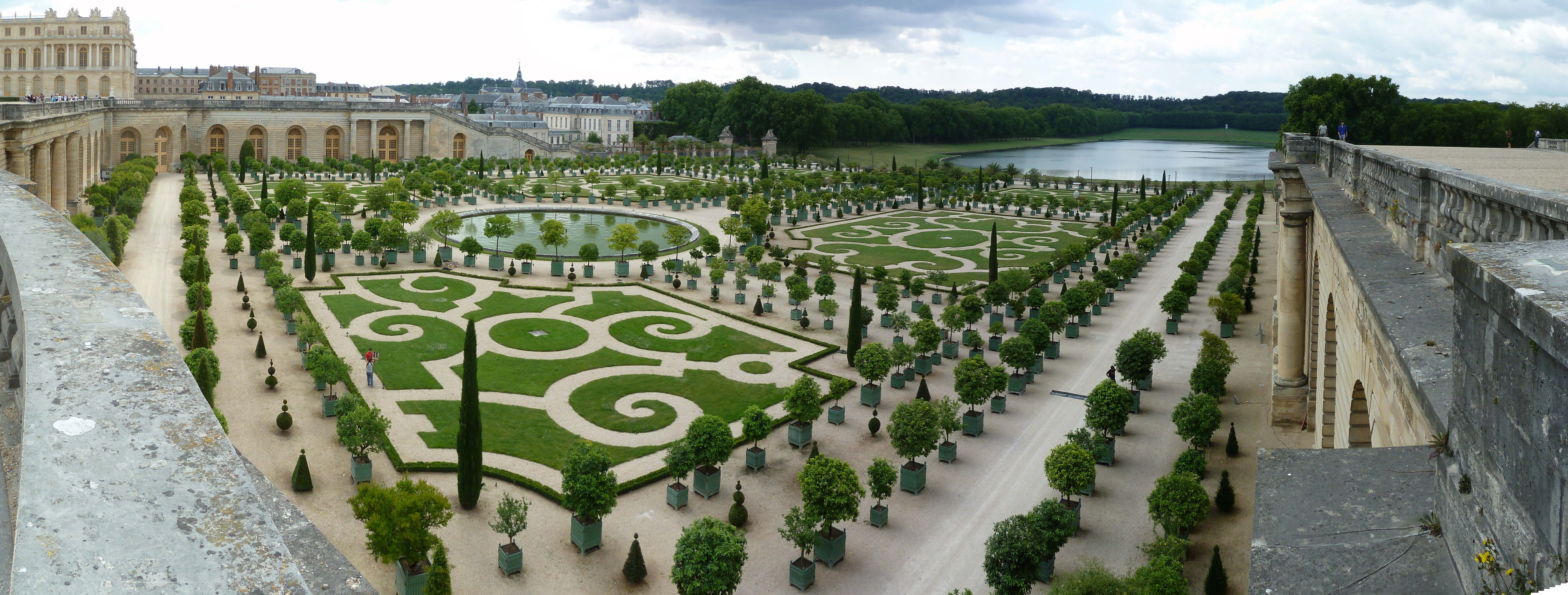 ... French Gardens From The Roof By Ultimalitho