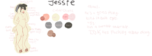 Jessie/Merr ref by Chin-Scratches