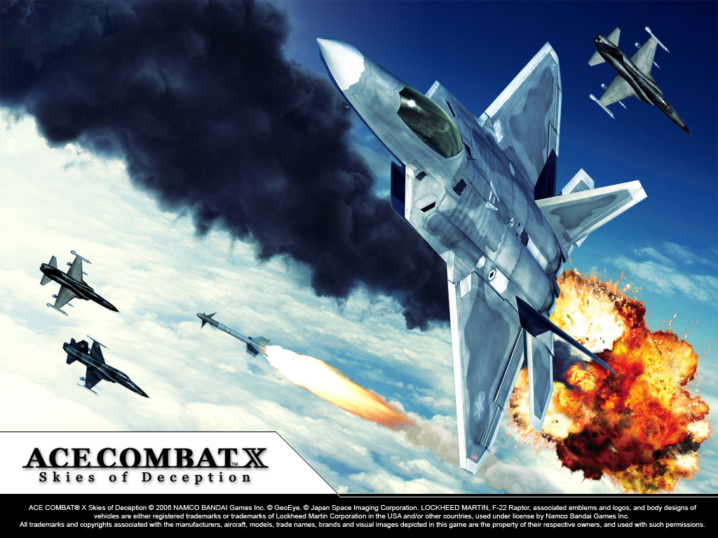Ace Combat X by CaptainMario