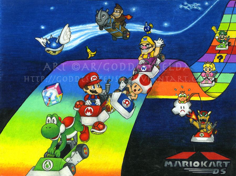 Mario Kart Ds By Goddess Zeusie On Deviantart