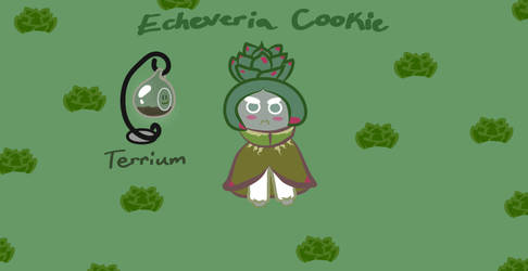 Echeveria Cookie |Cookie Run OC| by NightRainExplorer