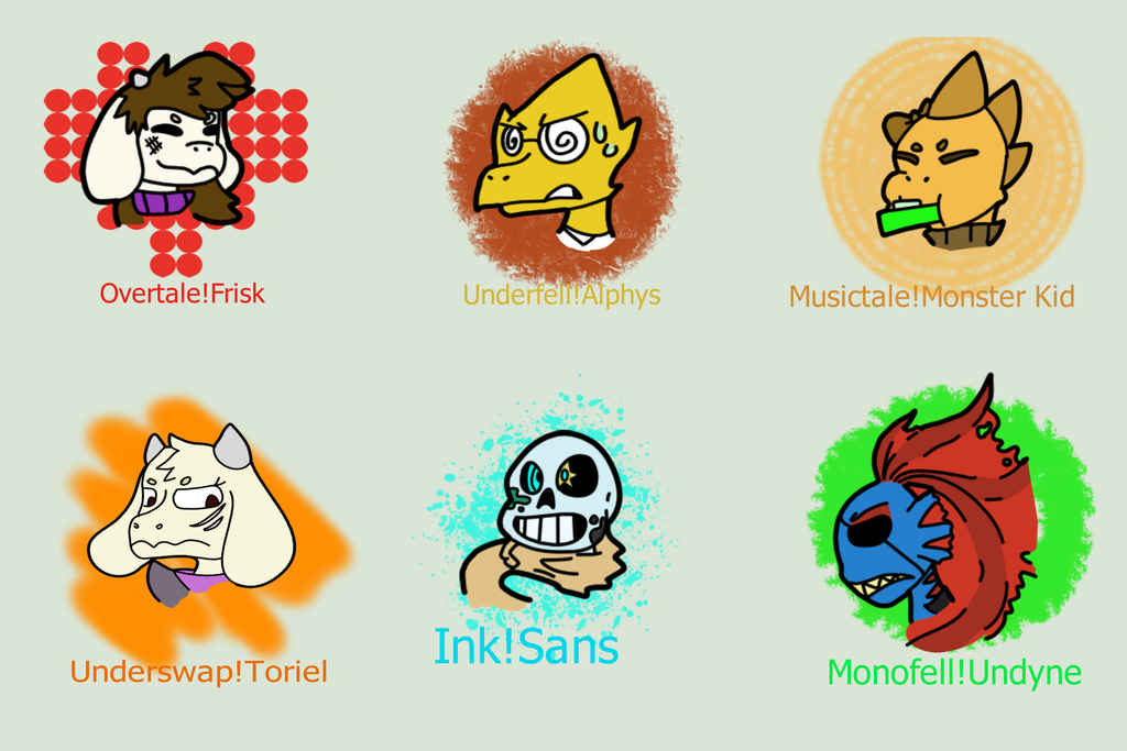 Undertale AU Doodles By Bruhbox3 On DeviantArt