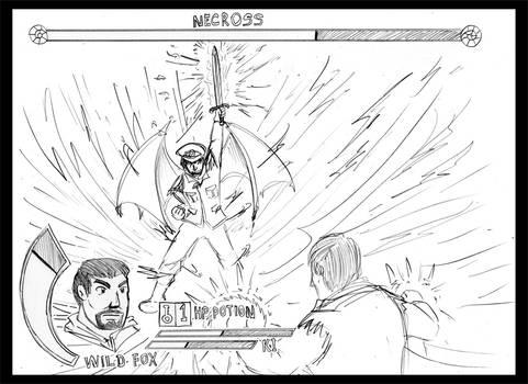 EA-LEC Game screenshot-Wild Fox vs Necross