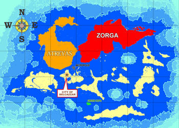 The Known Map of Elarthe