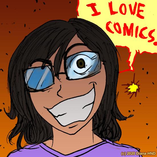13-I Love Comics