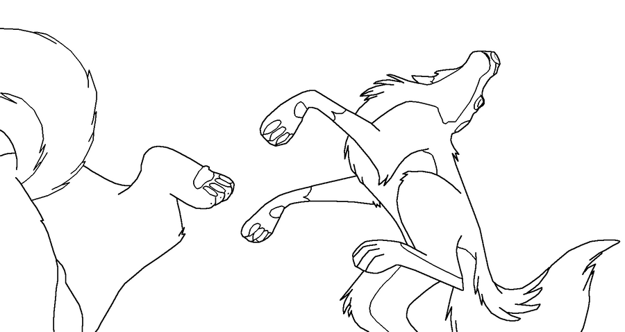 balto howling coloring pages - photo #15