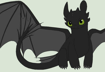 HTTYD Base 32~Nightfury 28~ by Xbox-DS-Gameboy