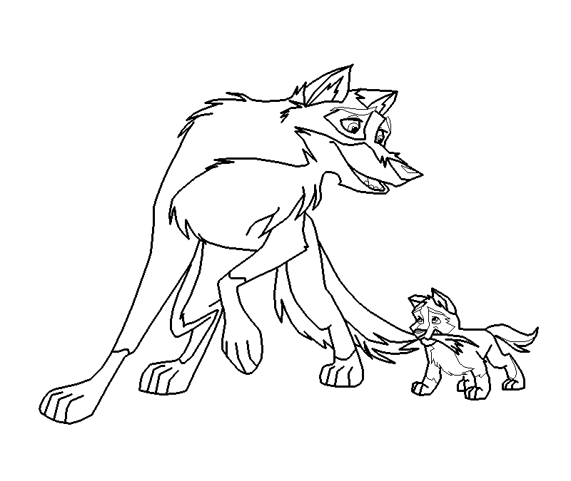 balto coloring pages online - photo#11