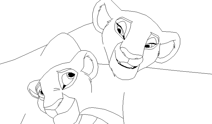 lion king 2 zira coloring pages coloring pages