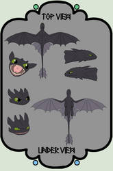 HTTYD Base 67~Nightfury 47~ by Xbox-DS-Gameboy