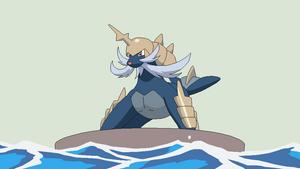 Pokemon base 10~Samurott 1~