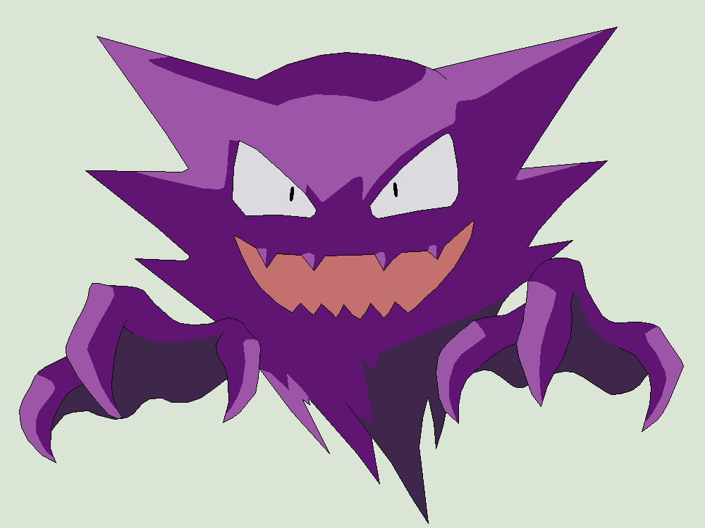 Pokemon Base 16 Haunter 1 By Xbox Ds Gameboy On Deviantart