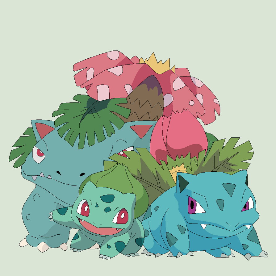 bulbasaur evolution wallpaper images - photo #20