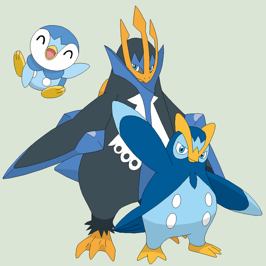 download pokemon starters piplup - photo #31