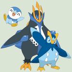 Pokemon Base 34~Piplup Evolution~