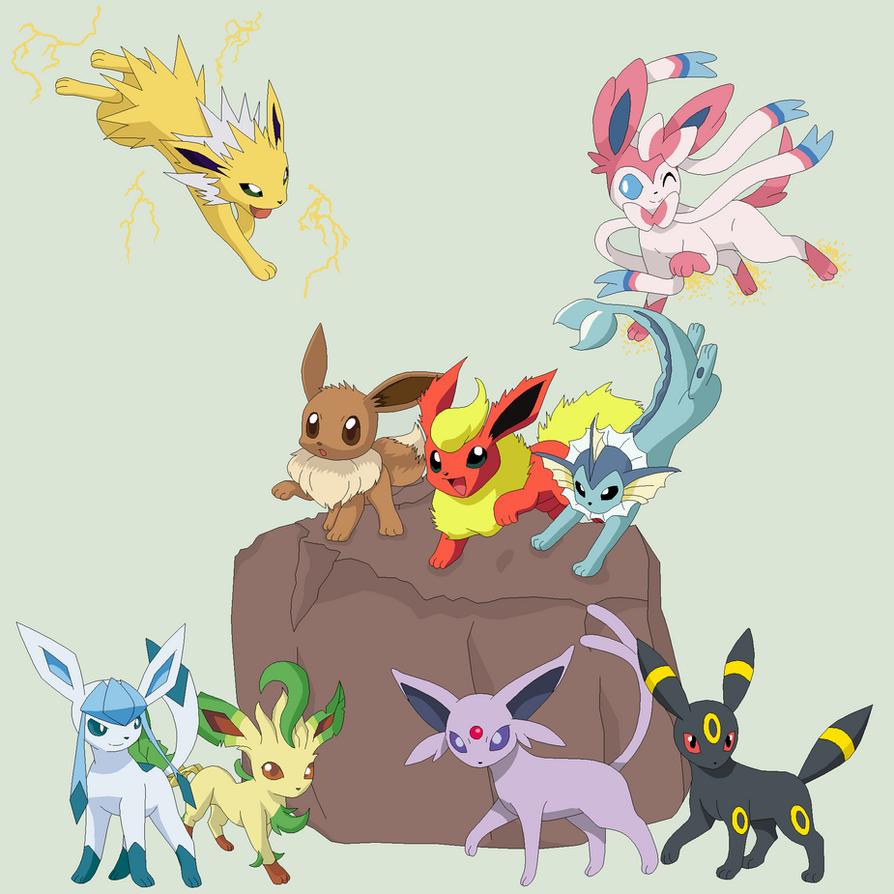 Pokemon 35~Eevee Evolution~ by Xbox-DS-Gameboy on DeviantArt
