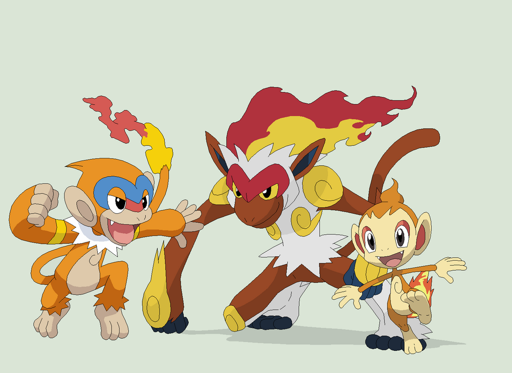 Pokemon 38~Chimchar Evolution~ by Xbox-DS-Gameboy on ...