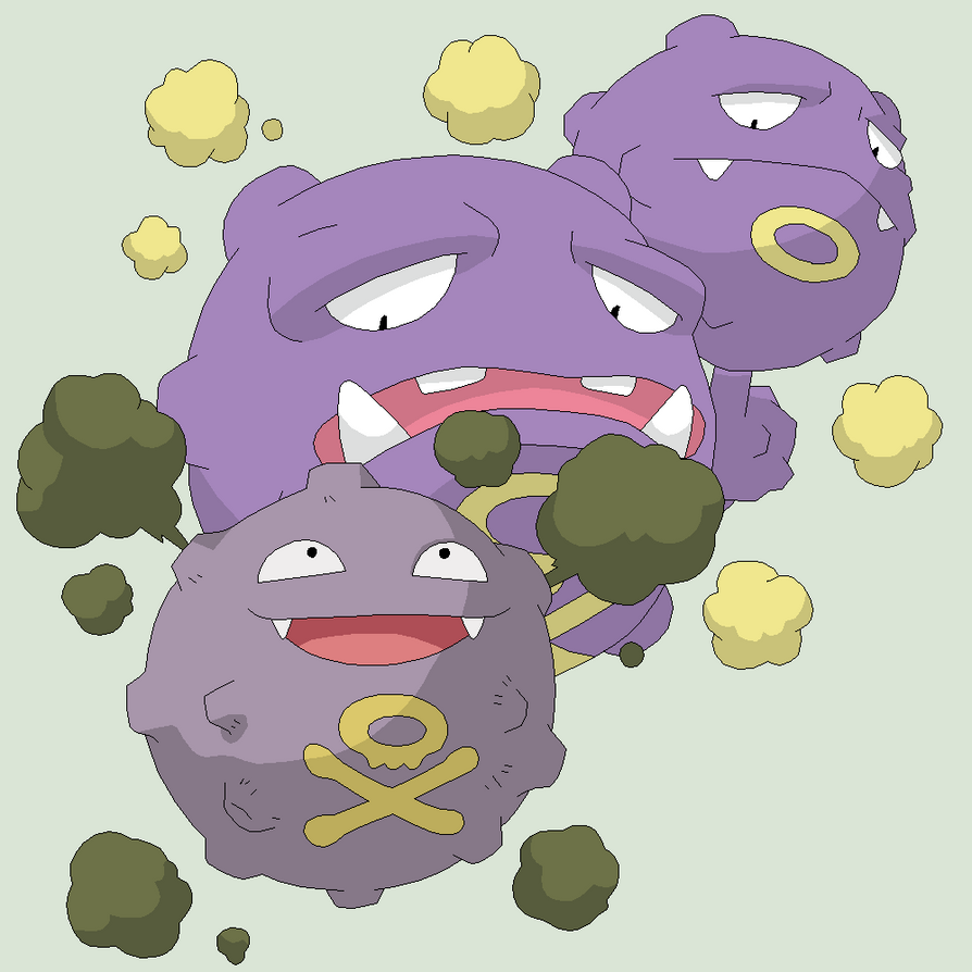 Pokemon Base 41~Koffing Evolution~ by Xbox-DS-Gameboy on ...