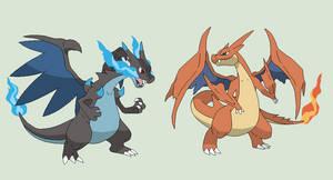 Pokemon Base 62~Mega Charizard X and Y versions~