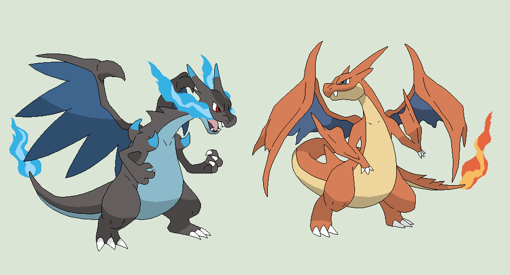 Pokemon Base 62Mega Charizard X And Y Versions By Xbox