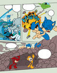 Sonic Base 28~Comic Page 1~No Background~