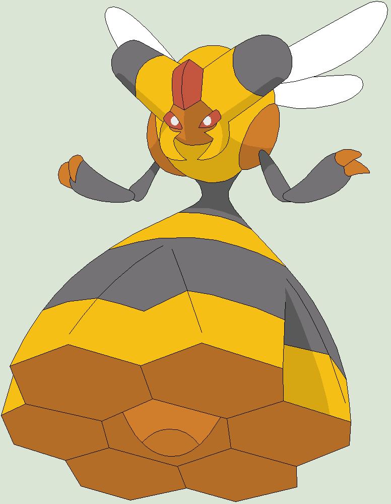 Pokemon Base 111~Vespiquen 1~ by Xbox-DS-Gameboy