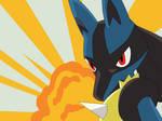 Pokemon Base 115~Lucario 3~