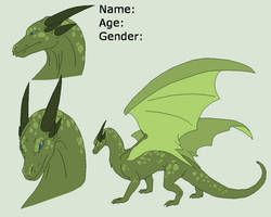 Dragon Lineart 5~Dragon ref 1~ by Xbox-DS-Gameboy