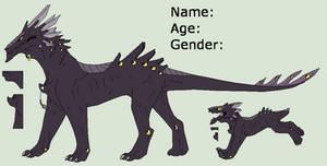 Dragon Lineart 6~Dragon ref 2~