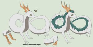 Dragon Lineart 8~River Dragon 3~