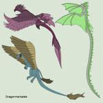 Dragon Lineart 9~Dragon pack~