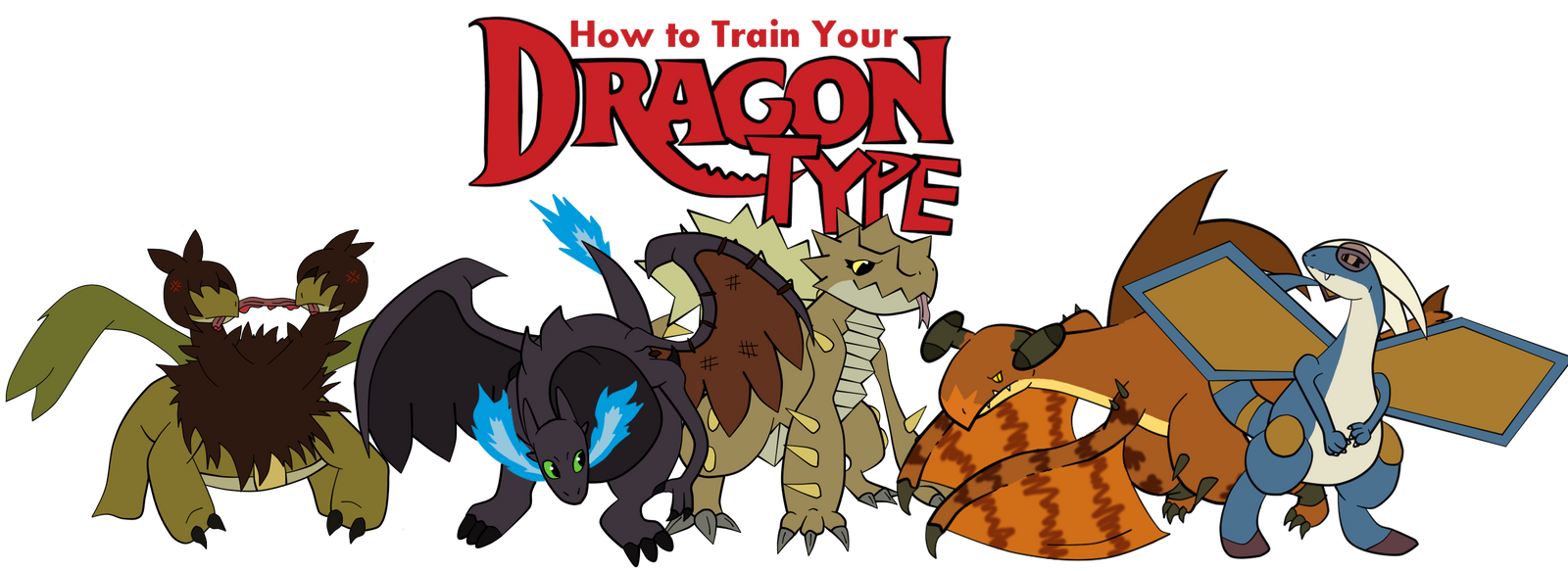 By How To Train Your Dragon Type~:all Of Them:~ By