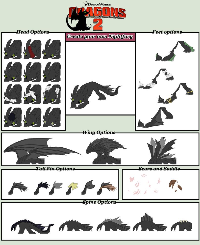 HTTYD Base 87~Nightfury Creator~ by Xbox-DS-Gameboy