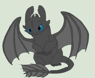 HTTYD Base 93~Nightfury 61~ by Xbox-DS-Gameboy