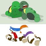 TMNT Base 2~Sleepy Turtles~