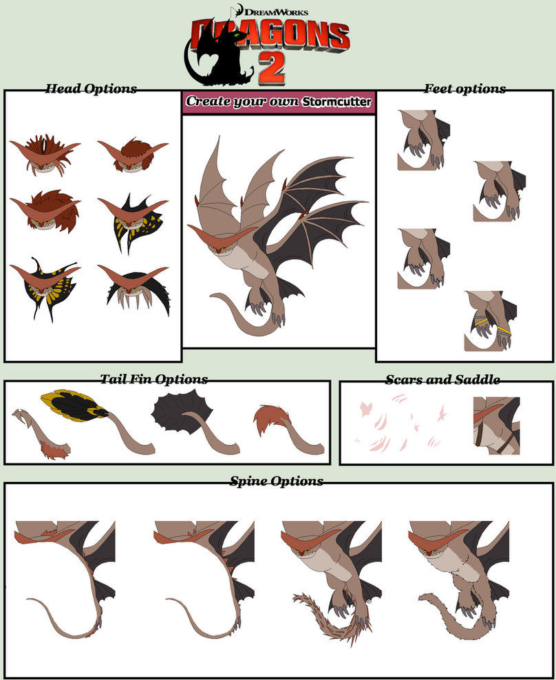 how to train your dragon character creator