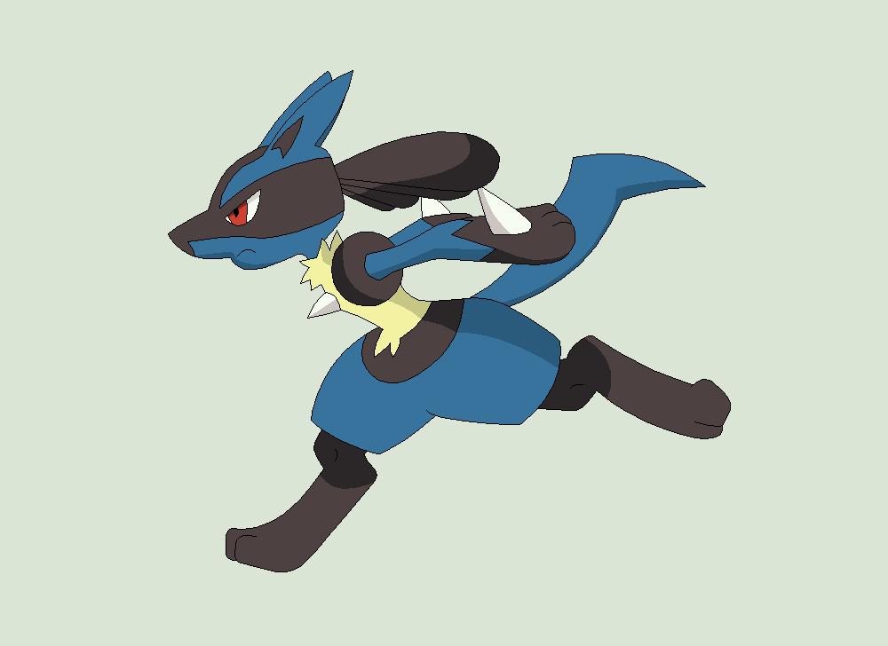 Pokemon Lucario Images