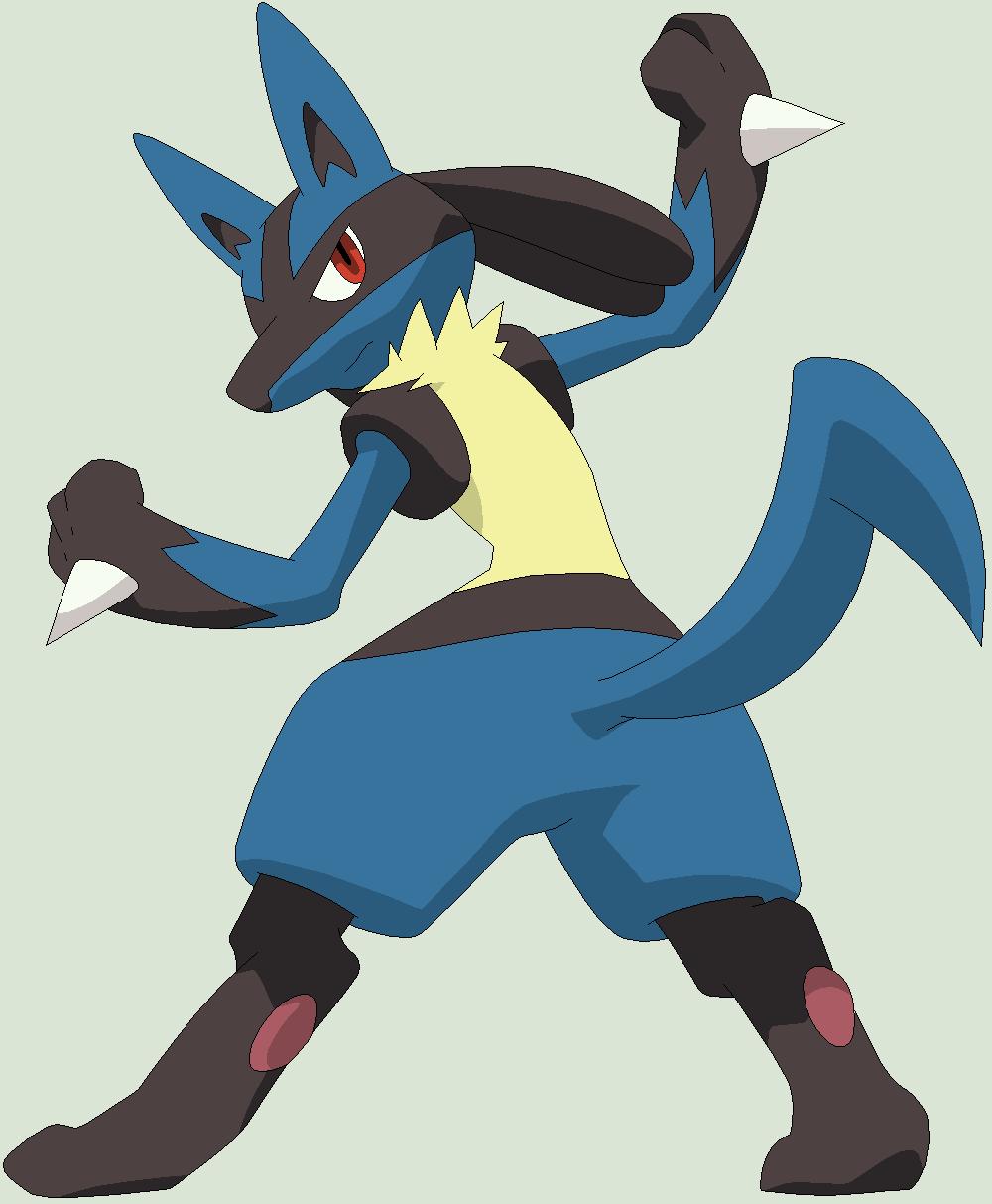 Pokemon Base 155 Lucario 5 475518182