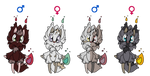 ~~Litwolf Adopts 1~~2/4 Open~~50 points each~~ by Xbox-DS-Gameboy