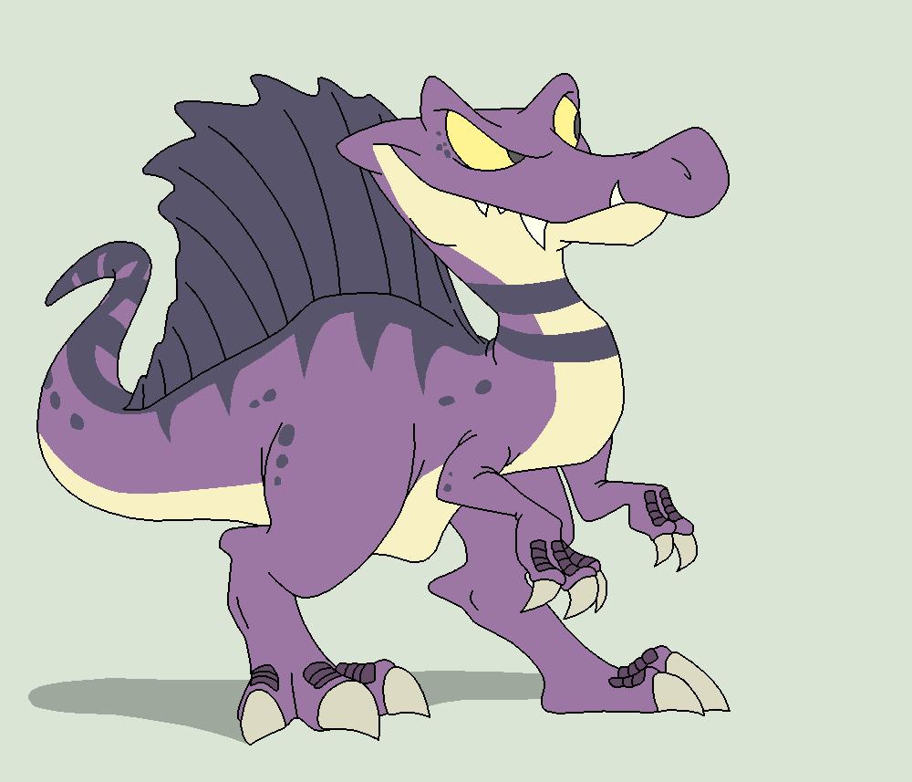Dinosaur Base 4~Spinosaurus 1~