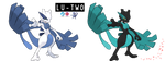 Pokemon Fusion Photoshop~Lu-two~ by Xbox-DS-Gameboy