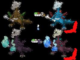 Pokemon Fusion Photoshop~Maroptile~ by Xbox-DS-Gameboy
