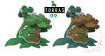 Pokemon Fusion Photoshop~Torras~ by Xbox-DS-Gameboy