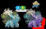 Pokemon Fusion Photoshop~Omasaur~