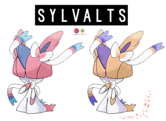 Pokemon Fusion Photoshop~Sylvalts~ by Xbox-DS-Gameboy
