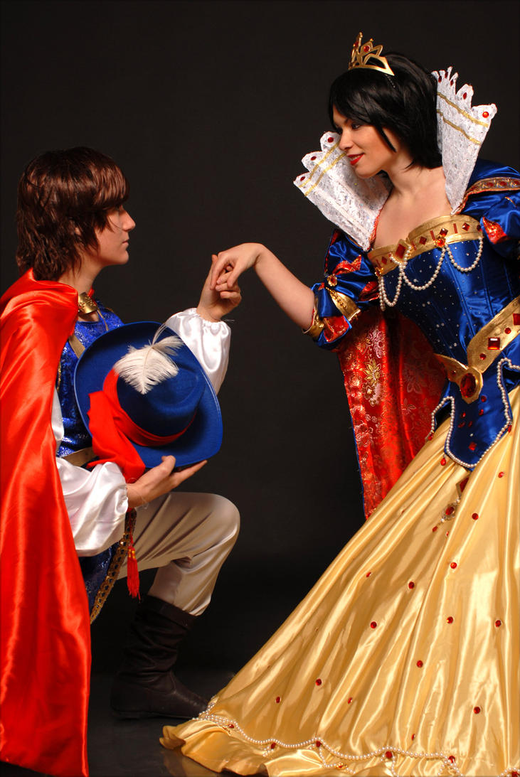 Snow white and the prince by Ivycosplay